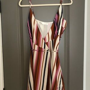 Henry & Belle Dresses - Henry & Belle Striped Wrap Dress